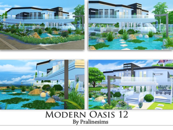 Modern Oasis 12 by Pralinesims