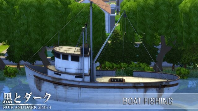 Fishing Boat by Noiranddarksims