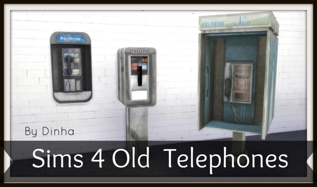 Old Telephones by Dinha Gamer