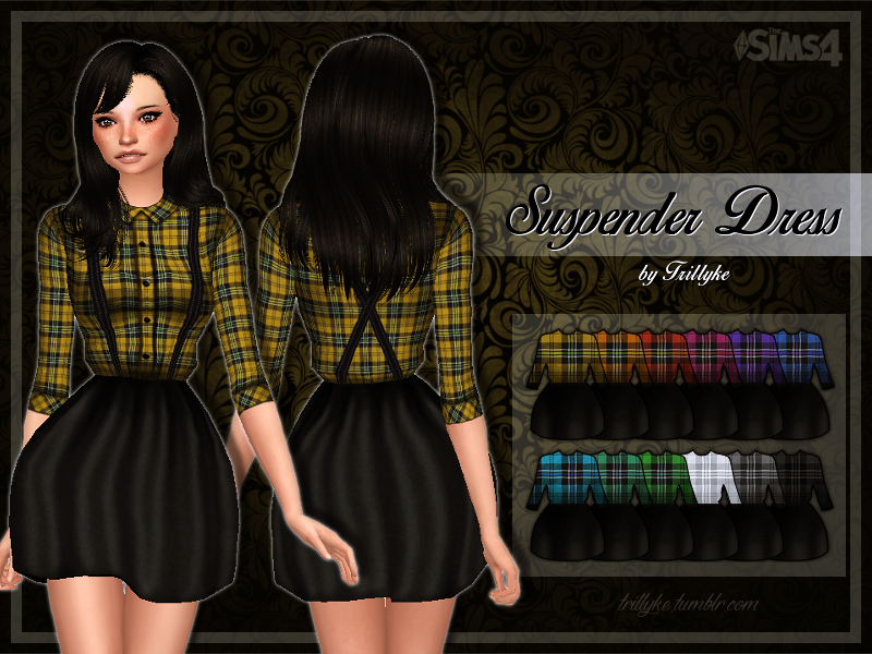 Suspender Dress by Trillyke