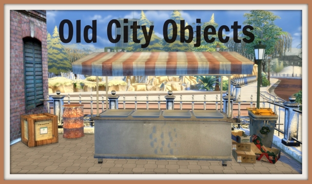 Old City Objects by Dinha Gamer
