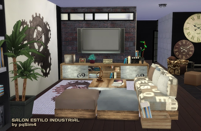 Industrial Living Set by pqsim4