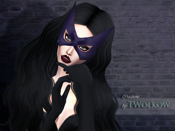 Huntress mask by TWolkow