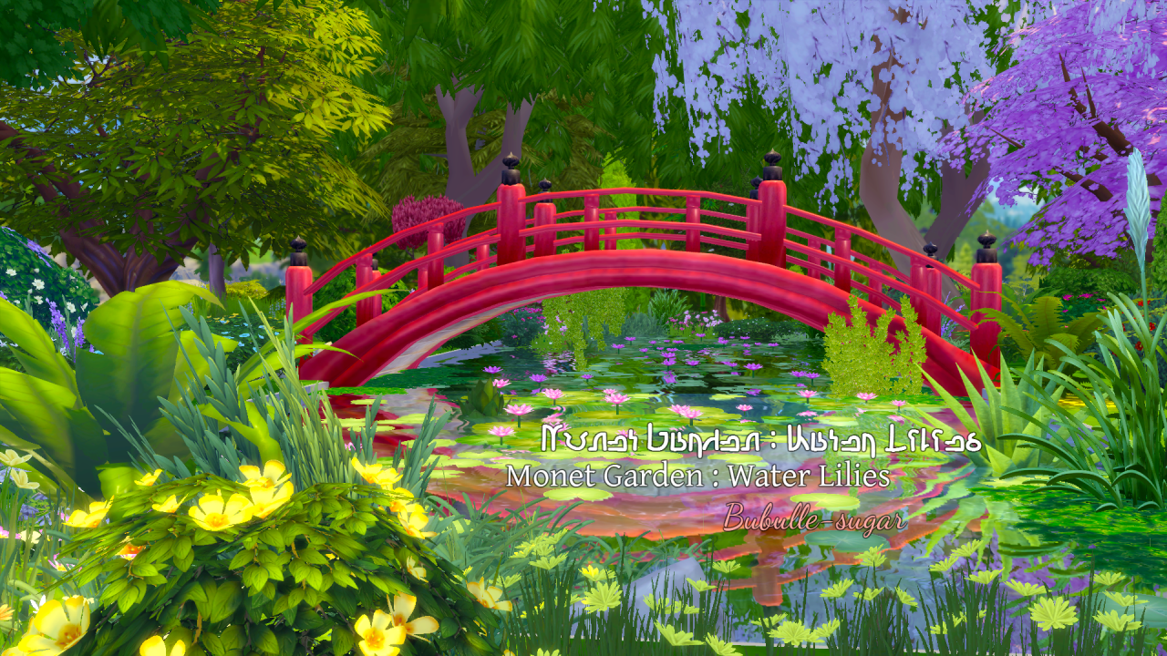 Monet Garden : Water Lilies by BubulleSugar