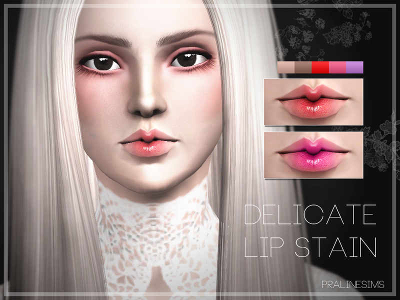 Delicate Lip Stain   BY Pralinesims