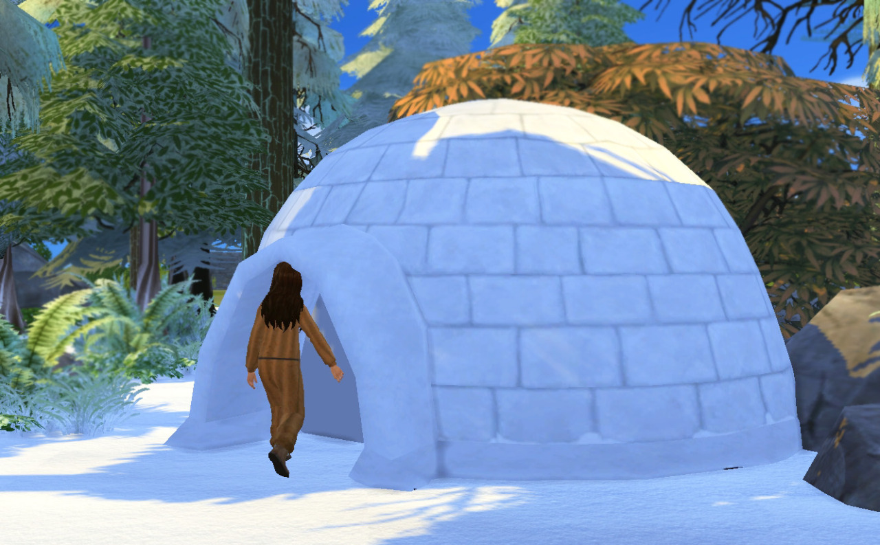 Igloo by HistoricalSimsLife