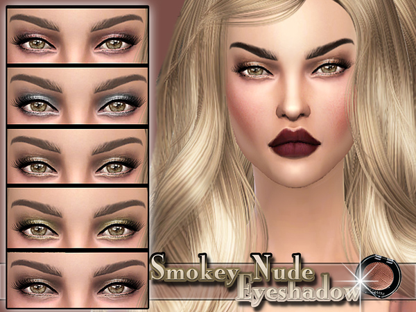 Smokey Nude Eyeshadow by Pinkzombiecupcakes