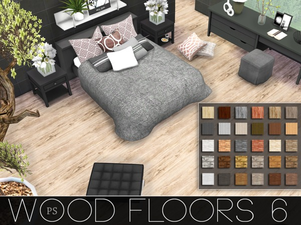 Wood Floors 6 by Pralinesims