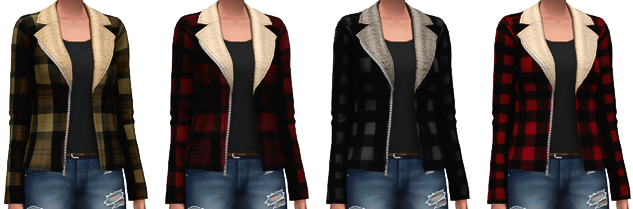 Shearling Jackets for Females by MarvinSims