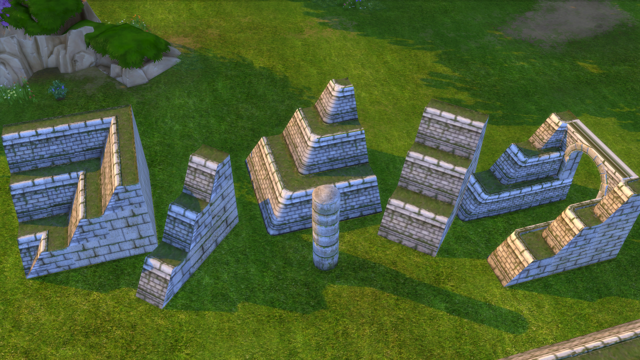 TS 2 to 4 Pyramid Build Set by Biguglyhag