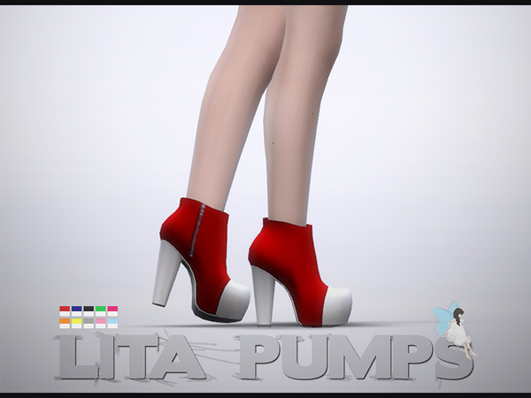 Lita Pumps by Ms Blue