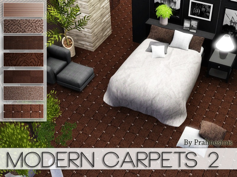 Modern Carpets 2  BY Pralinesims