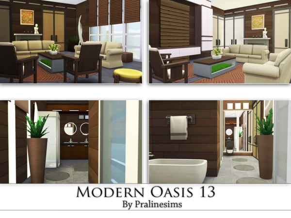 Modern Oasis 13 by Pralinesims