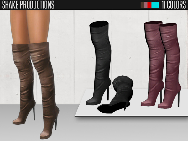 Shake Productions - Over The Knee Boots 48 by ShakeProductions