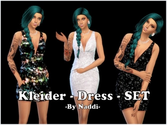 GLITZER DRESS BY NADDISWELT