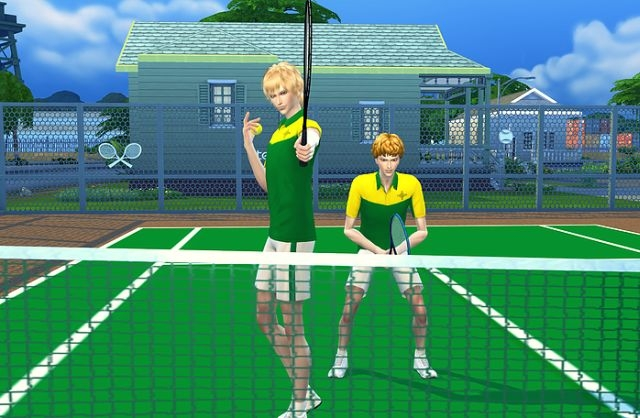 Tennis Court Set by Haneco