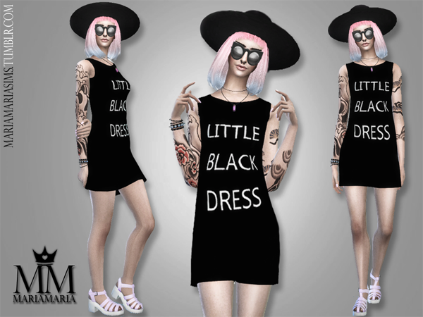 Little Black Dress by MariaMaria
