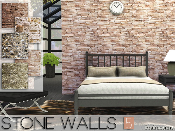 Stone Walls 5 by Pralinesims