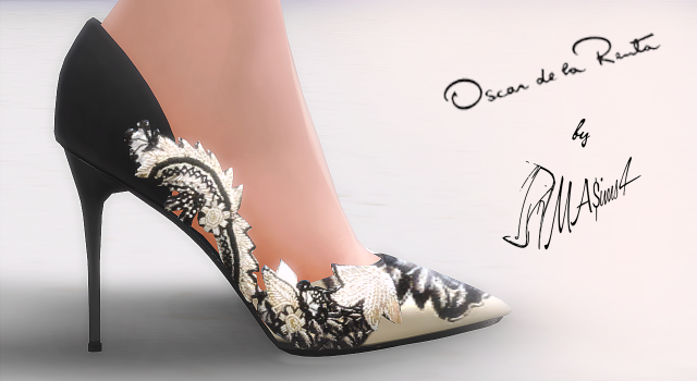 Oscar De La Renta Stiletto Pumps by MrAntonieddu