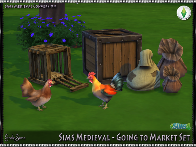 SM Going To Market Set by SrslySims