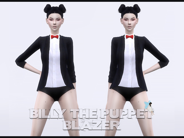 Billy the Puppet Blazer by Ms Blue
