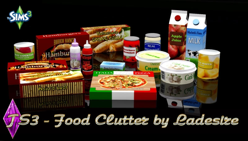 Food Clutter by Ladesire