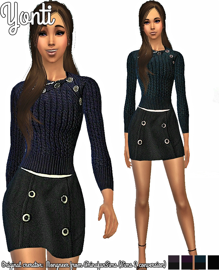 Yonti sims 2 conversion fashion 007