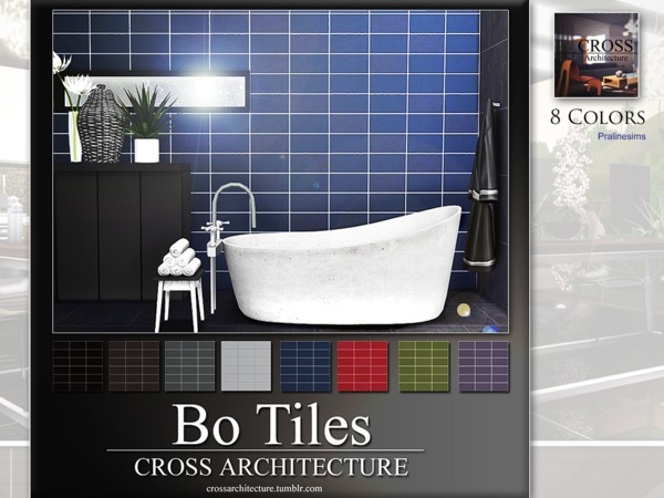 BO Tiles by Pralinesims