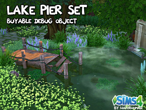 Lake Pier Set by akisima