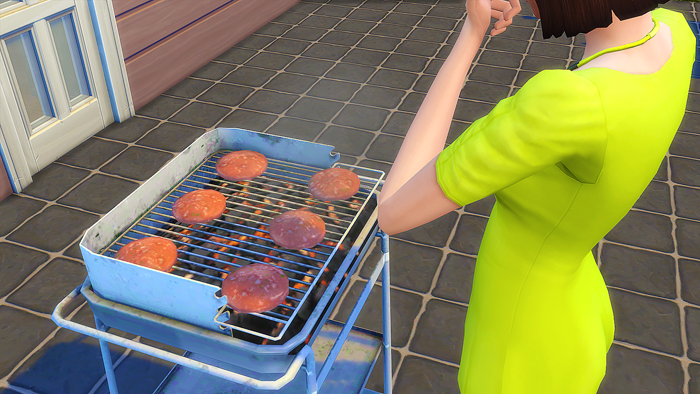 TS3 Beach BBQ Conversion by SimPeople