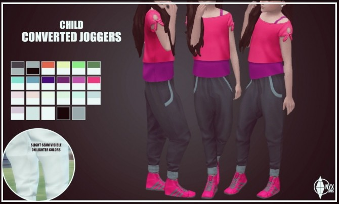 GT JOGGERS CONVERSION AT ONYX SIMS