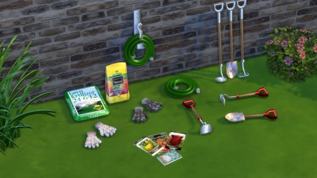 TS2 Garden Decor Conversions by Leo-Sims