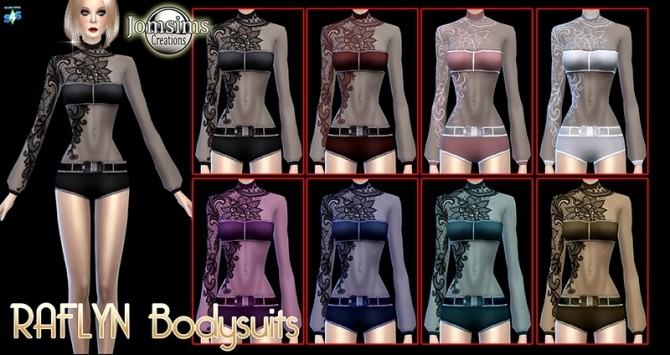 RAFLYN BODYSUITS AT JOMSIMS CREATIONS