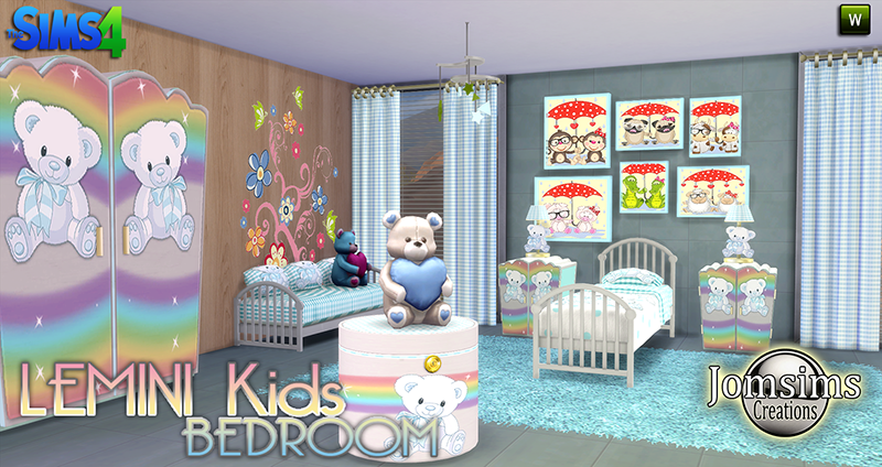 Lemini Kid's Bedroom Set by JomSims