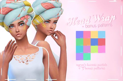 Head Wrap Recolors by GeekSims