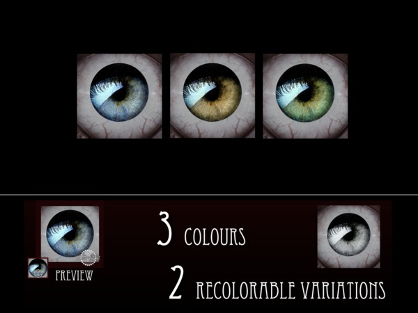 Realistic Eyes 034 by RemusSirion