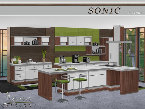 Sonic Kitchen by NynaeveDesignI