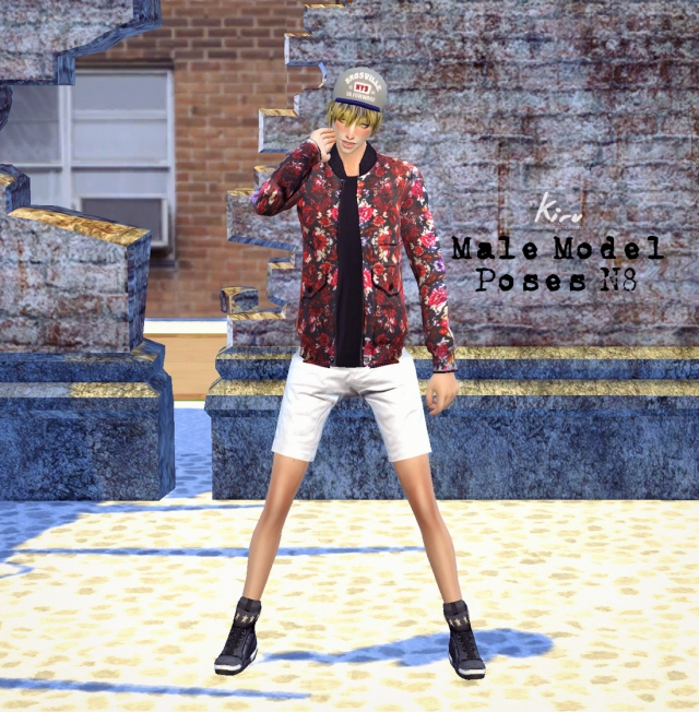 Male Model Poses N8 by Kiru