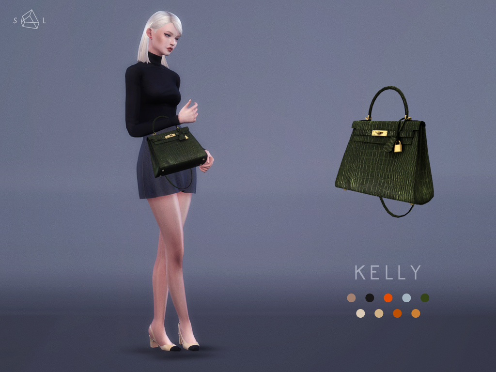 Herms Kelly Bag by StarlordSims