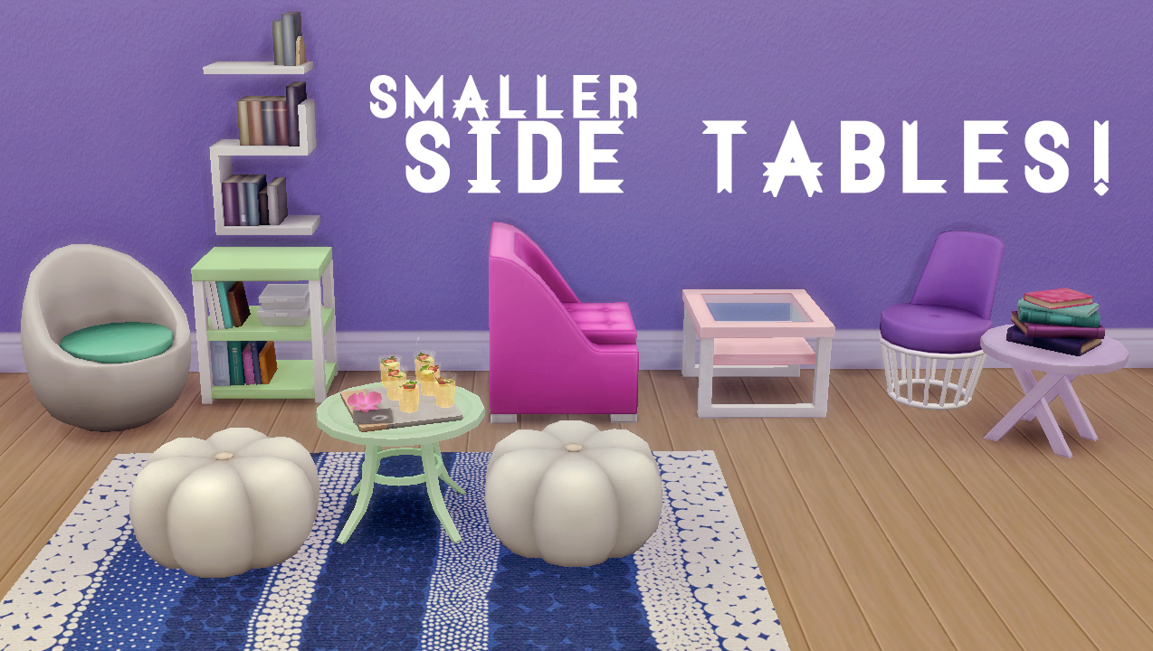 Smaller Side Tables by HamburgerCakes