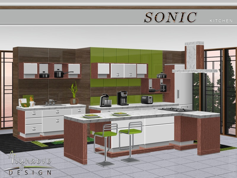 Sonic Kitchen  BY NynaeveDesign