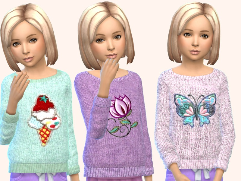 Girls Knitted Sweaters BY SweetDreamsZzzzz