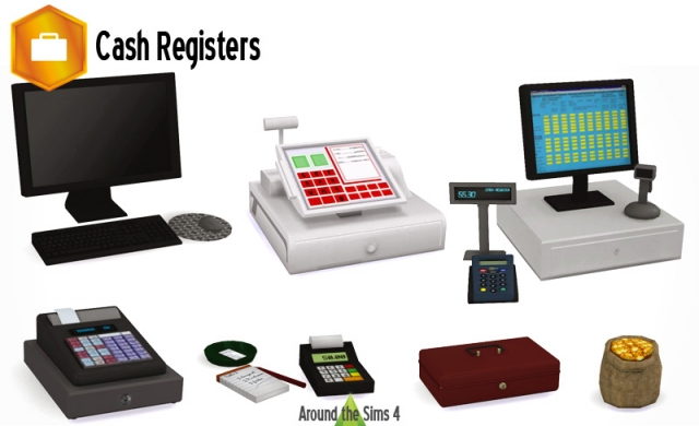 Cash Registers by Sandy