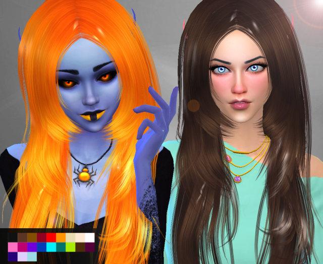 Conversion Hair ButterflySims 018 by Genius666