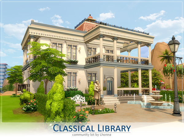 Classical Library by Lhonna