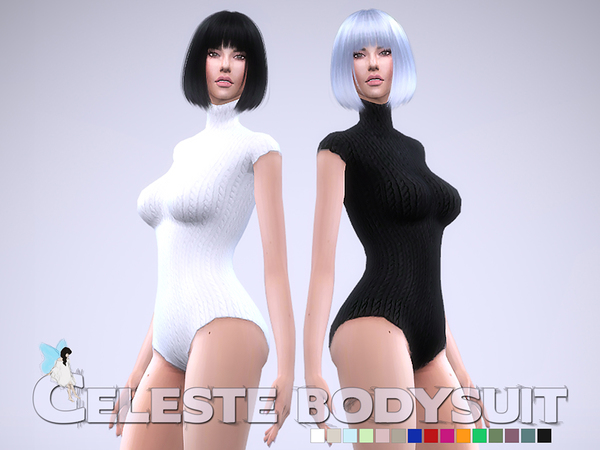 Celeste Bodysuit by Ms Blue