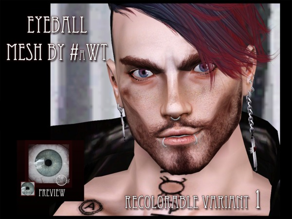 Friendly customizable Eyes 038 by RemusSirion