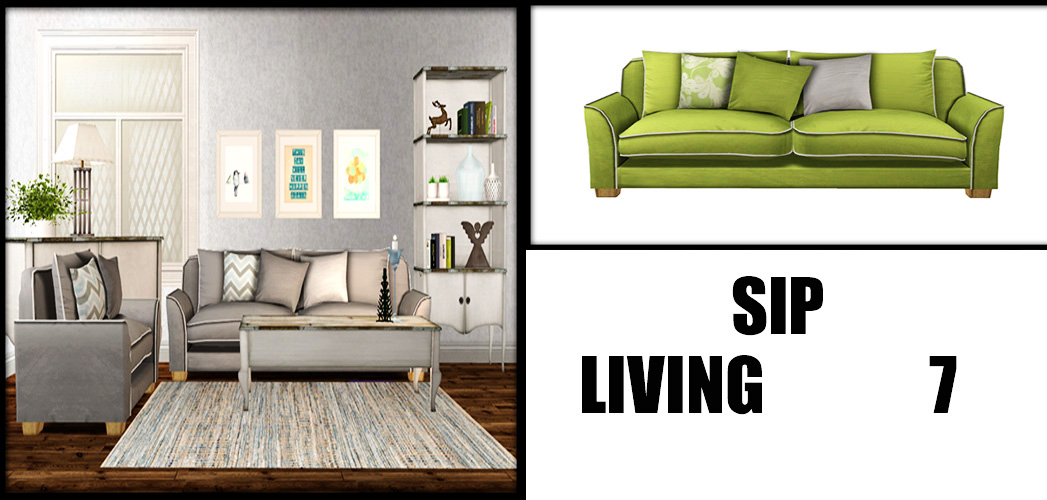 TS2 SIP Living and 13Pumpkin Rugs Conversions by Leo4Sims