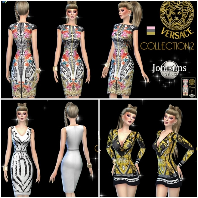 versace Collection 2 by Jomsims