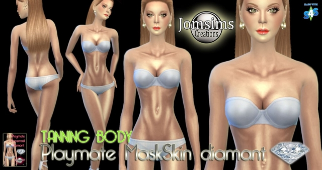 Playmate Mask skin Diamand by Jomsims